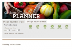 Websites and iPhone apps are excellent garden planning tools.