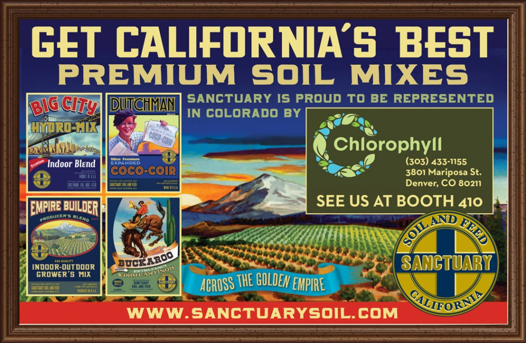 Denver indoor gardening expo march 10 11 2012 sanctuary soil sanctuary soil is proud to be represented by chlorophyll hydro at the denver indoor gardening export workwithnaturefo