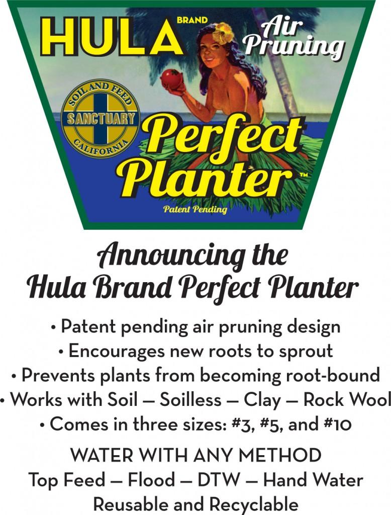 Hula Brand Perfect Planter